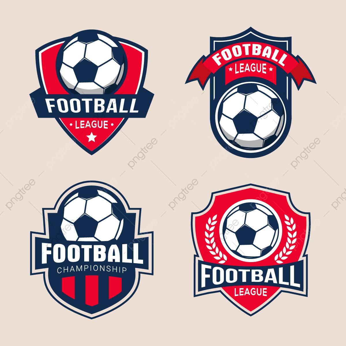 vector free download Logo design templates football. Vector emblem soccer