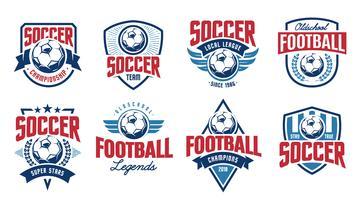 svg royalty free library Vector emblem soccer. Free art downloads