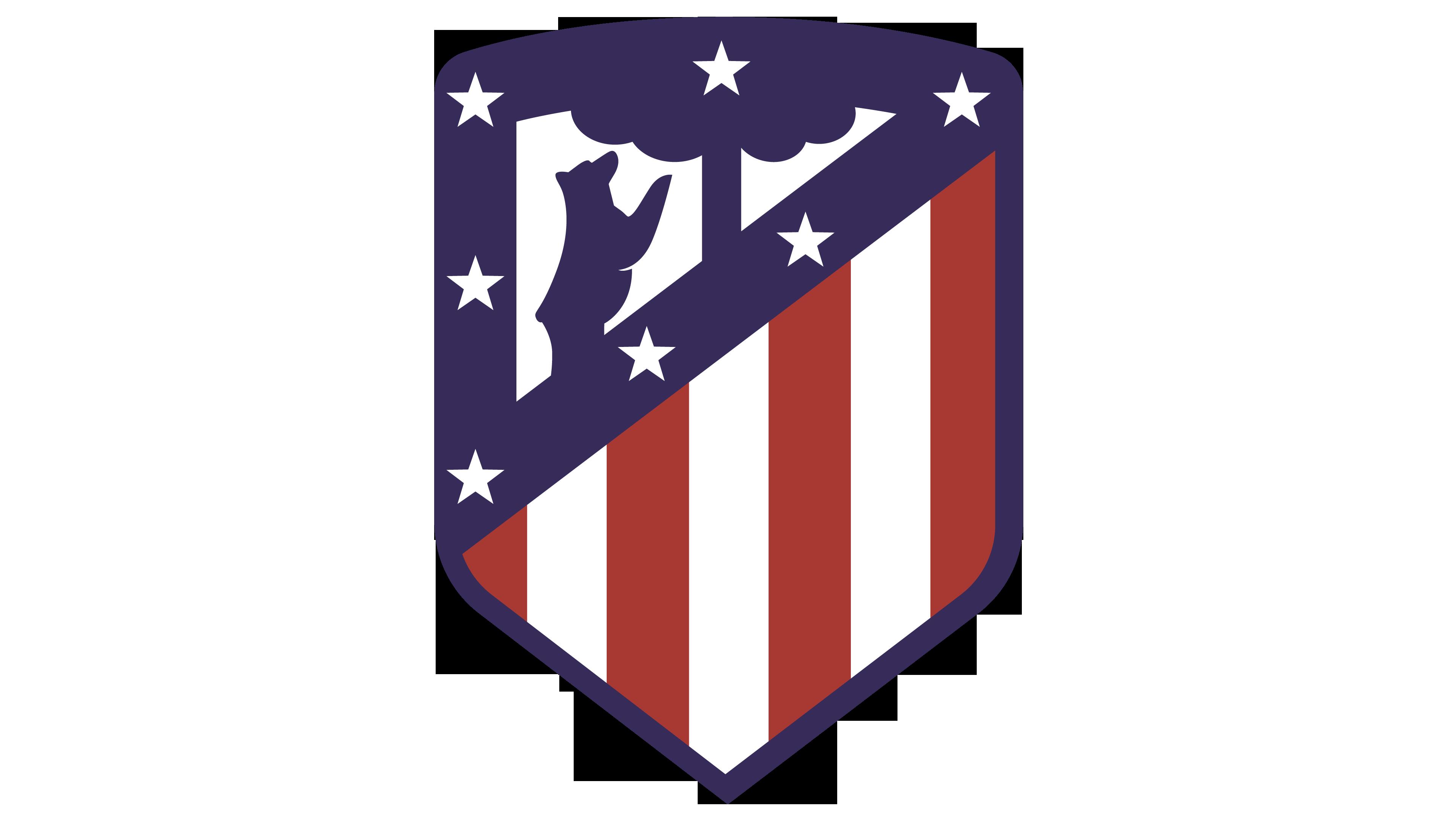 clip art free download Vector emblem stripes. Atletico madrid logo interesting