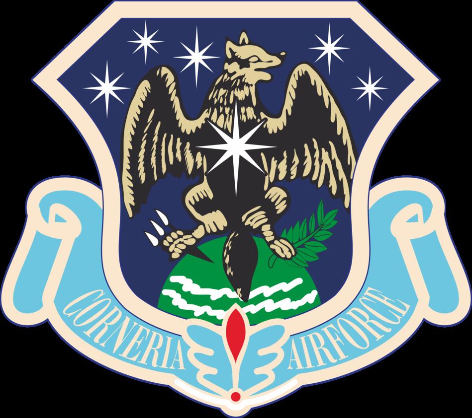 clip art freeuse download Vector emblem stripes. Cornerian airforce stripe by