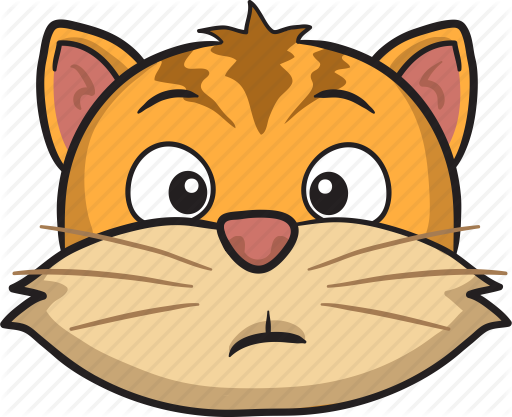 clipart royalty free Cat cartoon by toons. Vector emojis animal
