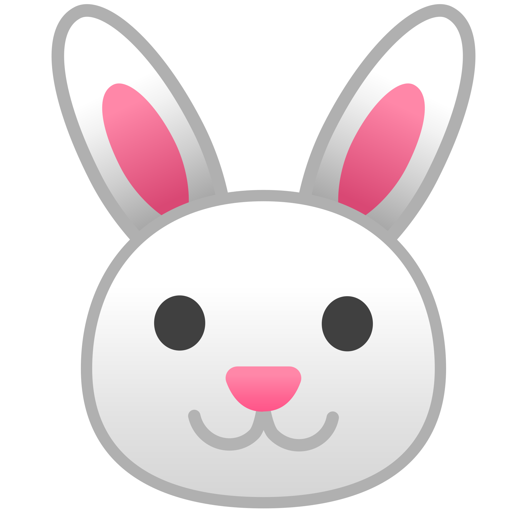 svg transparent library Vector emojis bunny.  easter head png