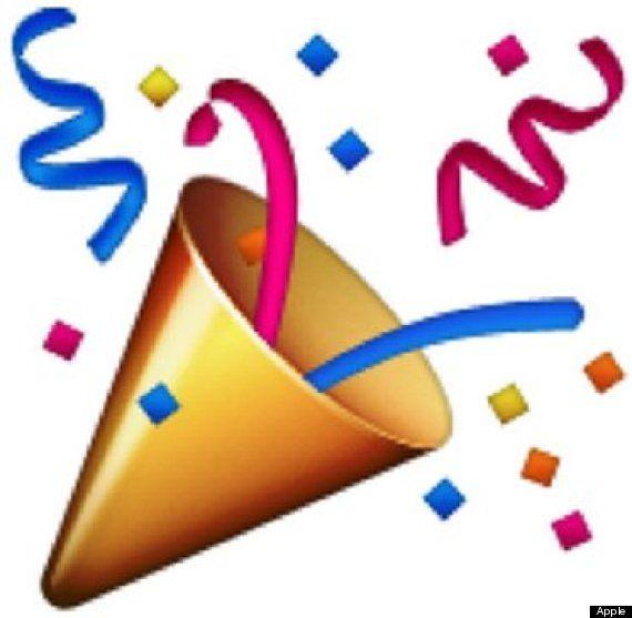image stock Vector emojis celebration. The definitive ranking of