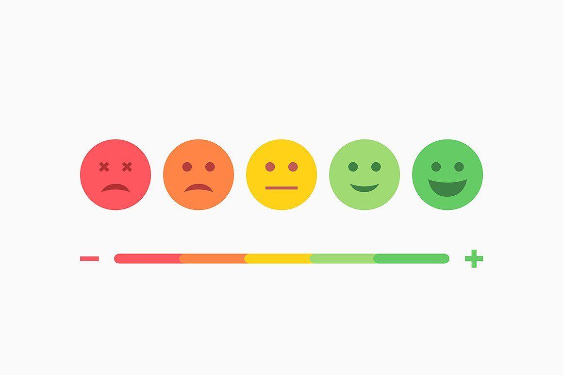 clip art freeuse Vector emojis colored. Set of emoji flat