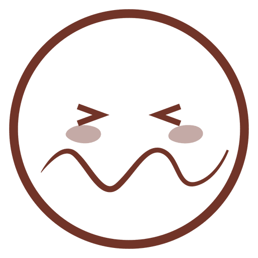 clipart transparent download Cartoon confounded flat emoji. Vector emojis comic