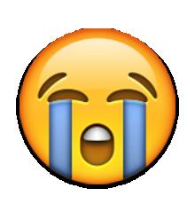 clip free Vector emojis cry. Smiley face emoji with