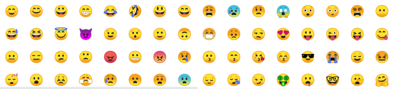 clip royalty free Vector emojis downloadable. Everything you need to