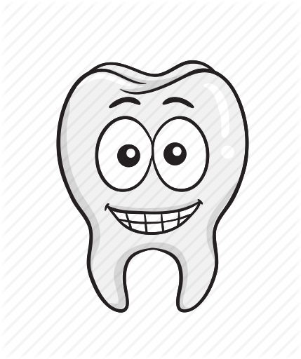 graphic stock Tooth for dentists by. Vector emojis drawing