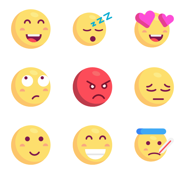clipart royalty free stock smiley vector flat design #115715643