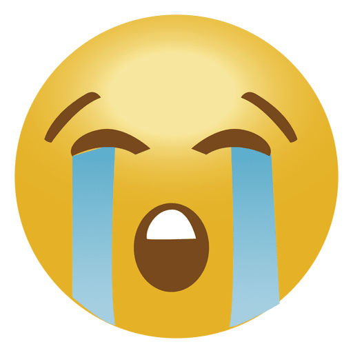 clipart transparent Cry emoji transparent png. Vector emojis emoticon