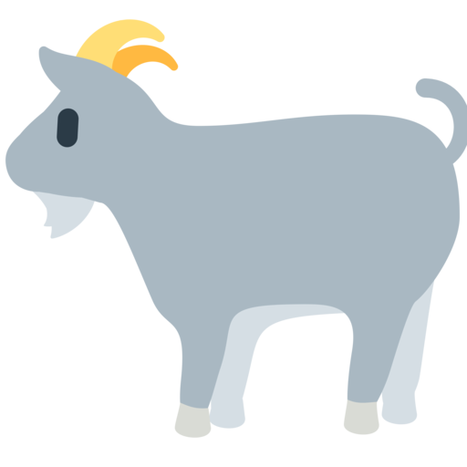 image free library Vector emojis goat.  emoji png for