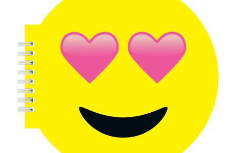 picture stock Yellow png path decorations. Vector emojis heart eye emoji