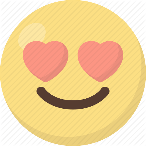 clipart library download Vector emojis heart eye emoji. Color people faces by