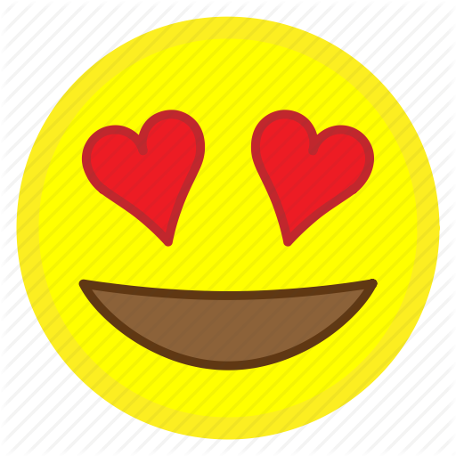 jpg black and white By alexander hovy eyes. Vector emojis heart eye emoji
