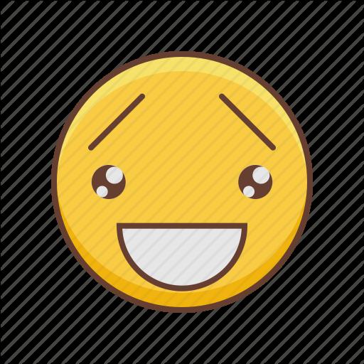 image black and white library Emoji by sergey tikhonov. Vector emojis kawaii