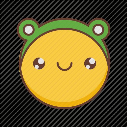 clip freeuse Vector emojis kawaii. Emoji by sergey tikhonov