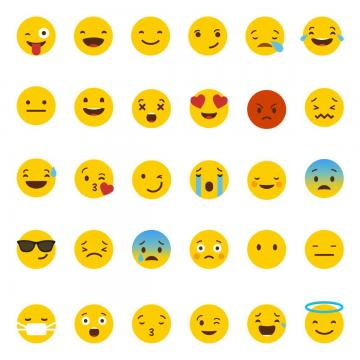 vector freeuse library Sad png images and. Vector emojis minimalist