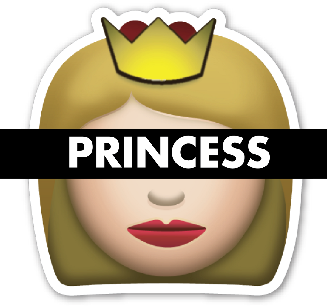 royalty free download Emoji reyna princesa . Vector emojis princess