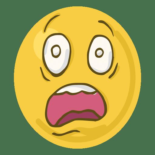 banner royalty free Shock face emoji