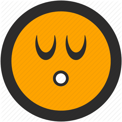 clip library Roundettes emoji companions by. Vector emojis sigh