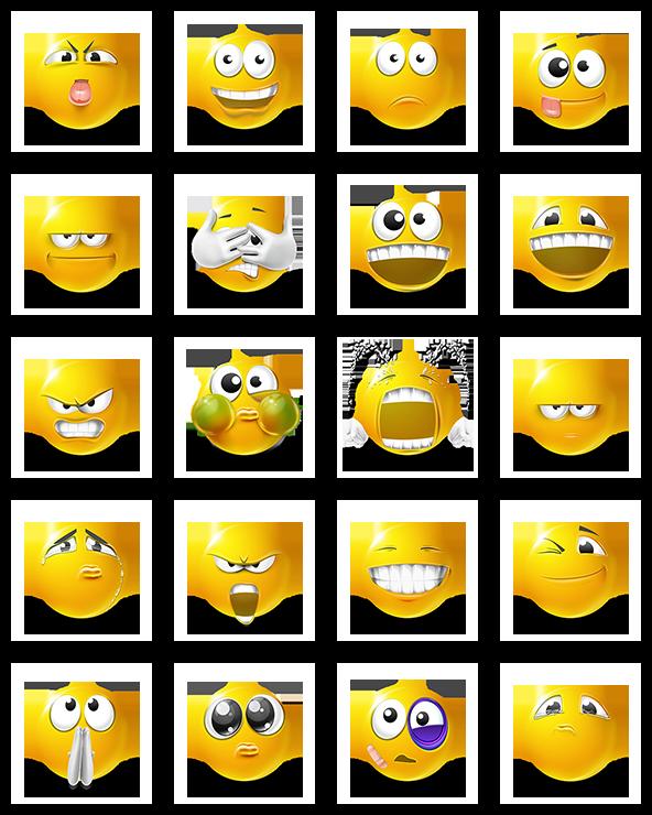 transparent download Vector emojis tiff. Very emotional emoticons remastered