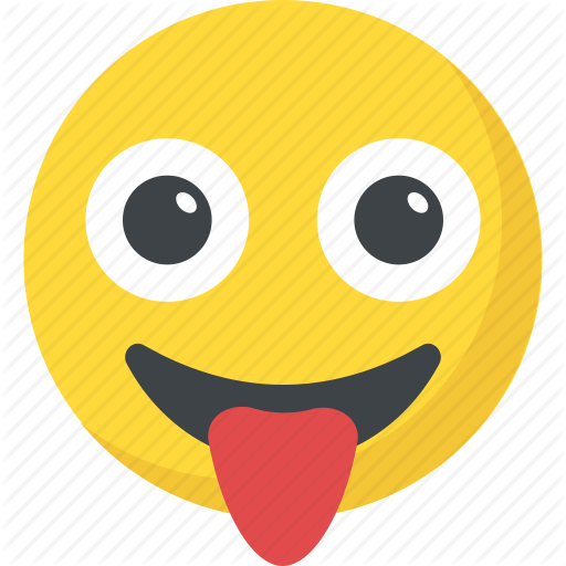 picture transparent stock Vector emojis tongue. Smiley by vectors market