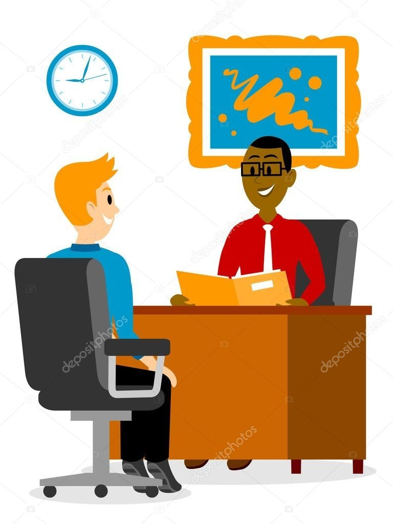 vector transparent Vector employment clip art. A young man getting