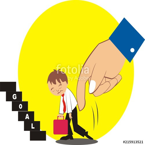 clip art library library Carricature of employees are. Vector employment employee motivation