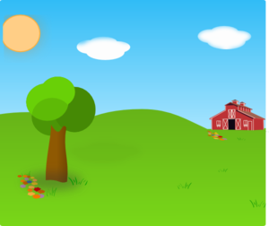 clipart freeuse library Farm Background Clip Art at Clker