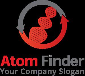 image transparent library Atom logo eps free. Vector finder