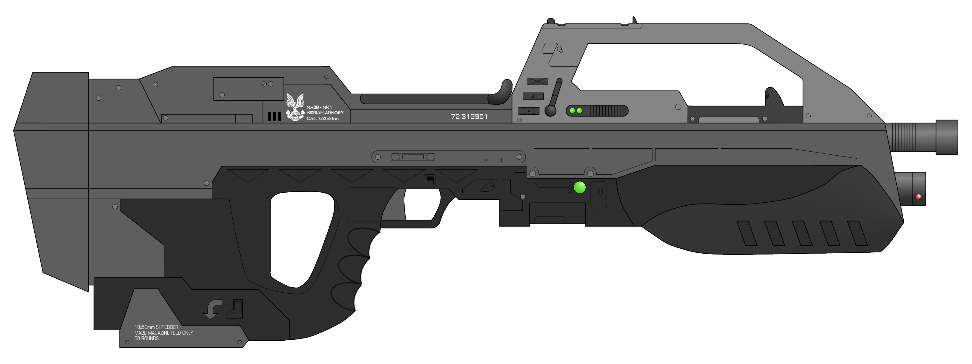 clipart royalty free download vector firearm scifi #107823003