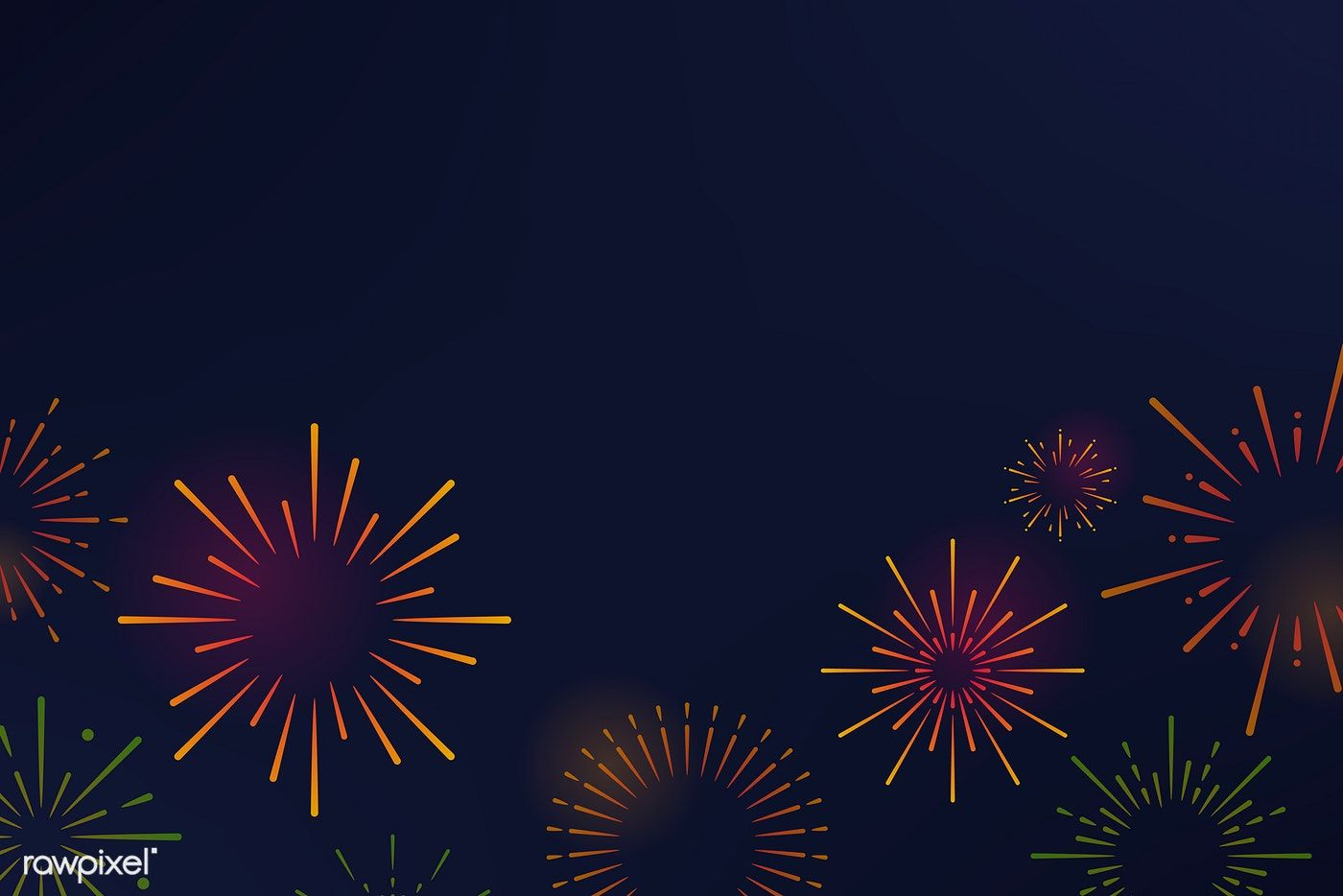 vector black and white stock Firework explosions background design vector