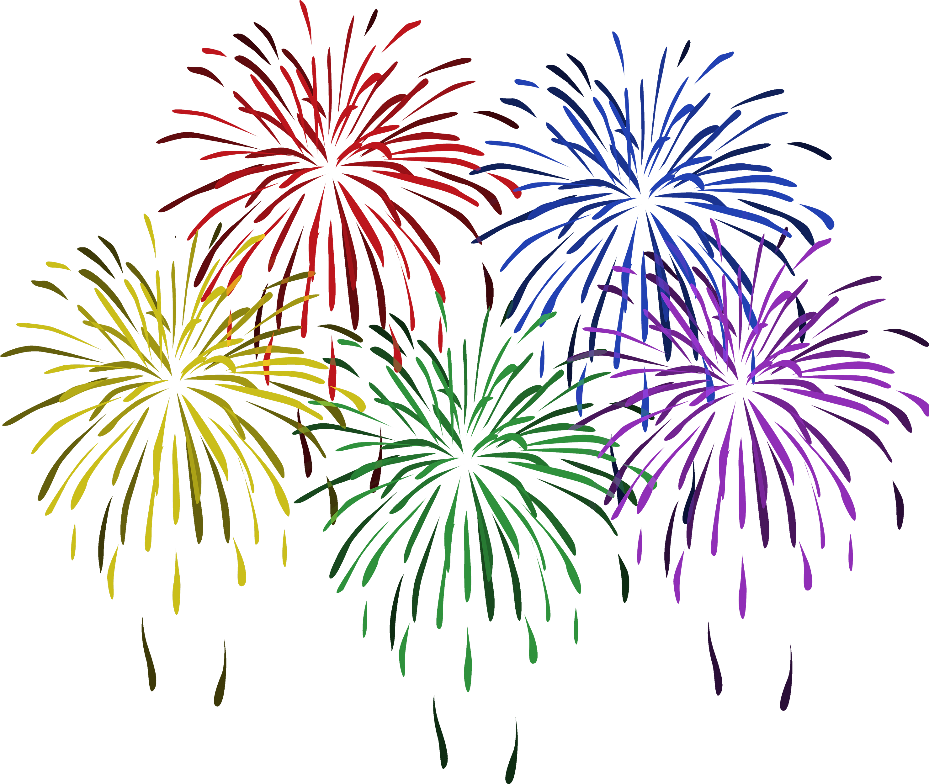 vector royalty free download vector firework new year #107832973