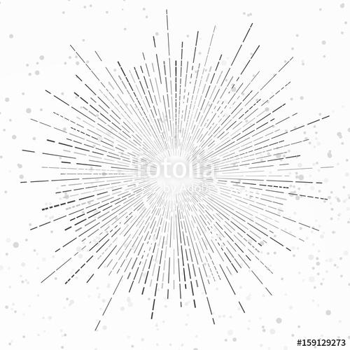 image free download Modernistic isolated retro style vintage sunburst flare