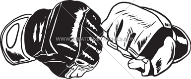 clip library download Fists production ready artwork. Vector fist mma