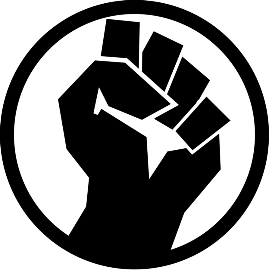 picture black and white download Fist Game Icon by inkedicon on DeviantArt