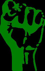 jpg freeuse download Green Fist Clip Art at Clker