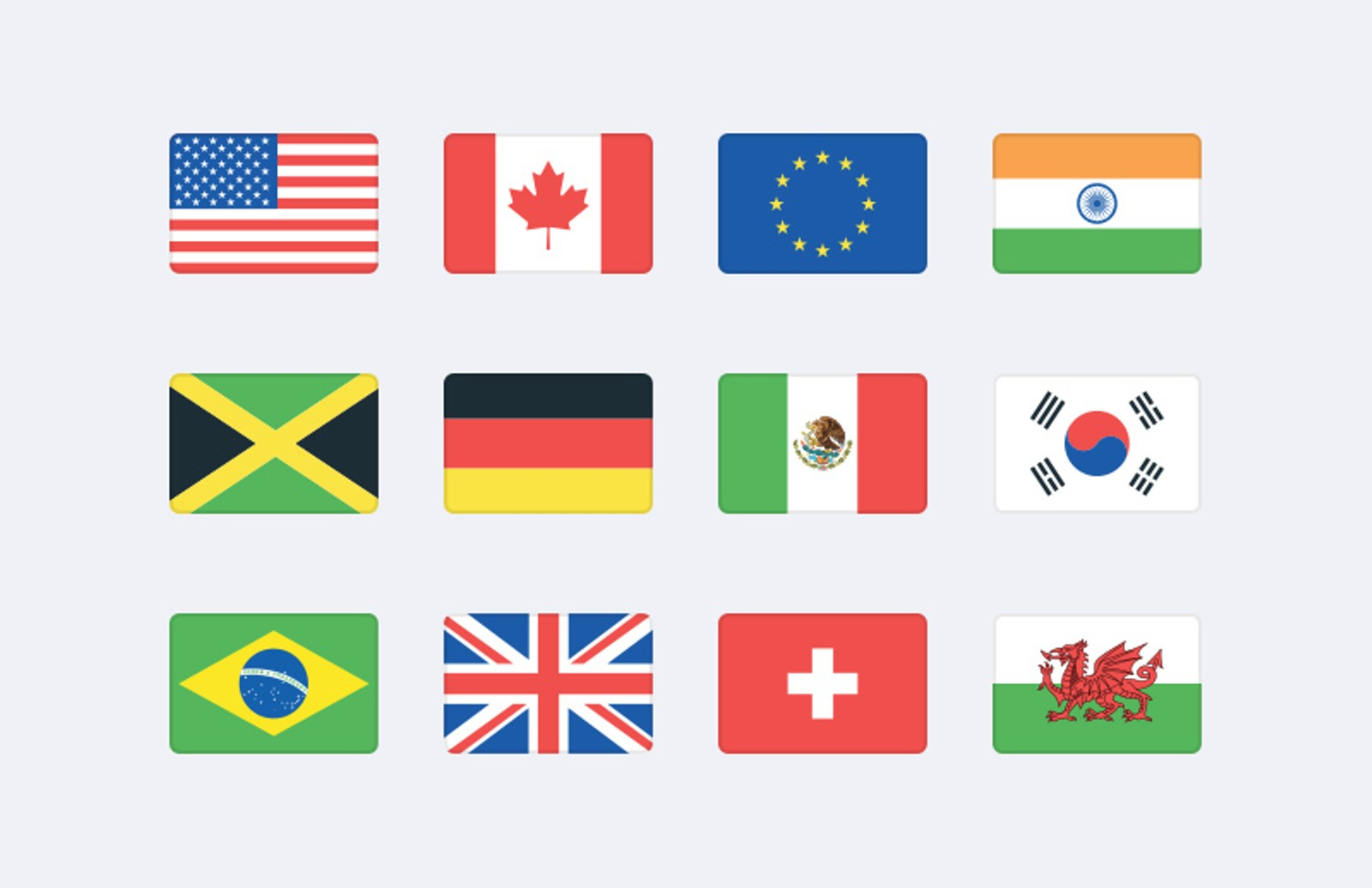 clip black and white download World flag icons svg. Vector flags