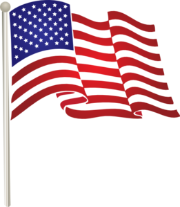 jpg transparent stock United States Waving Flag Clip Art at Clker