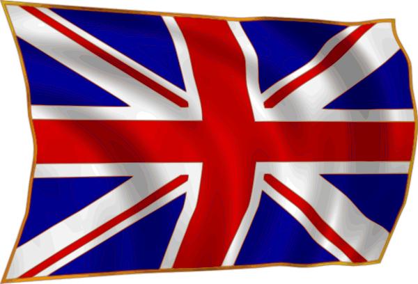 jpg freeuse download United Kindom Union Flag Fluttering In Breeze Clip Art at Clker