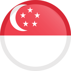 vector download Singapore flag vector