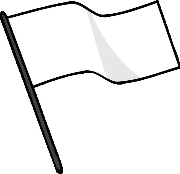 jpg transparent Waving White Flag Clip Art at Clker