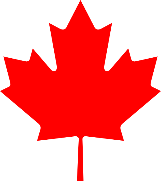vector transparent library Canadian Flag Silhouette at GetDrawings
