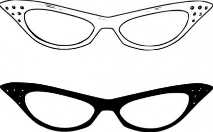 jpg royalty free eye glass clip art