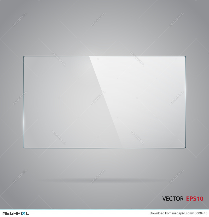 image royalty free library Horizontal illustration megapixl . Vector glass frame