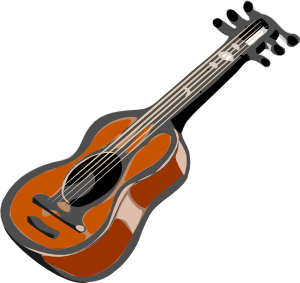 graphic free Guitar Clip Art at Clker