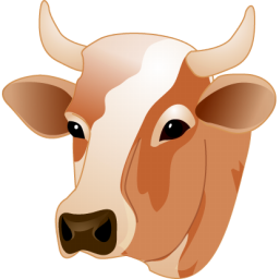 jpg free library PNG Cow Head Transparent Cow Head