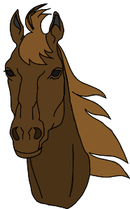 picture Horse Head Clip Art at Clker