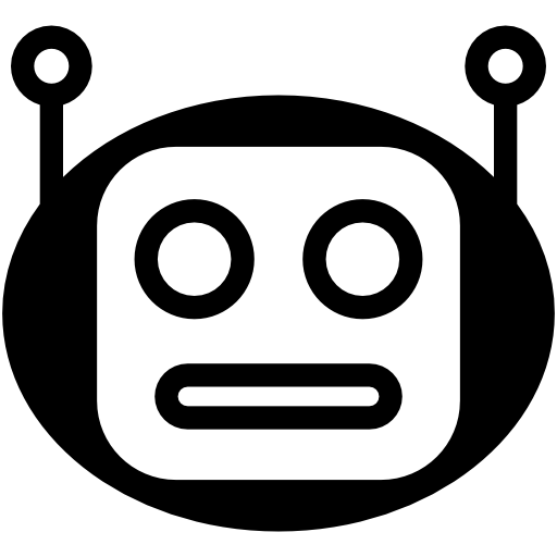 svg free library vector robot head #108359079
