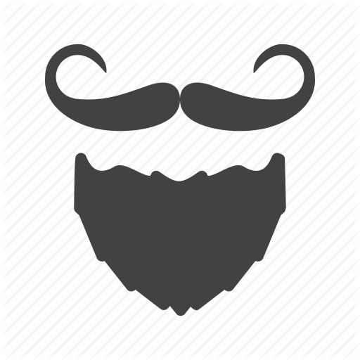 royalty free Hipster Glyph